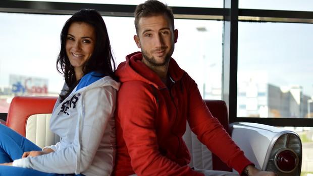 VIDEO: Aneta Andollini in Nik Triler v novem letu še vedno burita duhove (foto: Aleš Rod)