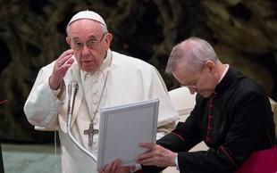 Papež poziva ameriške škofe k skupnemu boju proti zlorabam