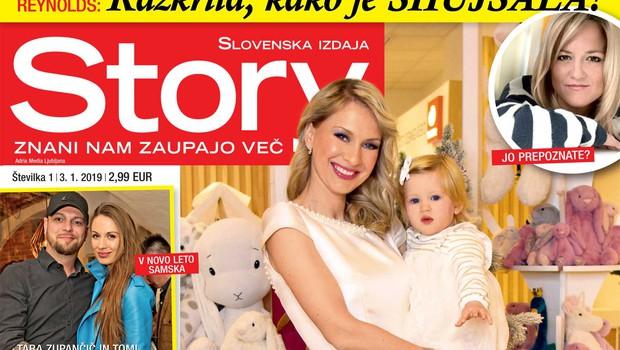 """Mirjam Poterbin: """"To je le moj sin, moje življenje, moj svet."""" Več v novi Story! (foto: Story)"""