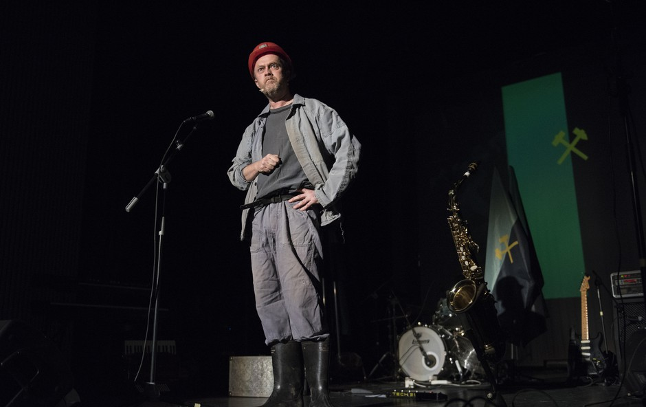 Koncert-komedija z Orleki in Matjažem Javšnikom (foto: Petra Cvelbar)