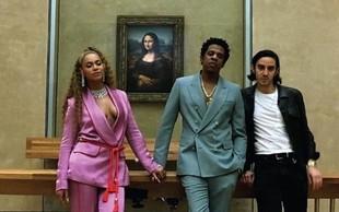 Beyonce in Jay Z pripomogla k rekordni obiskanosti Louvrea