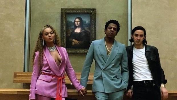 Beyonce in Jay Z pripomogla k rekordni obiskanosti Louvrea (foto: profimedia)