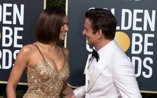 Bradley Cooper in Irina Shayk zasačena v nežnih intimnih trenutkih