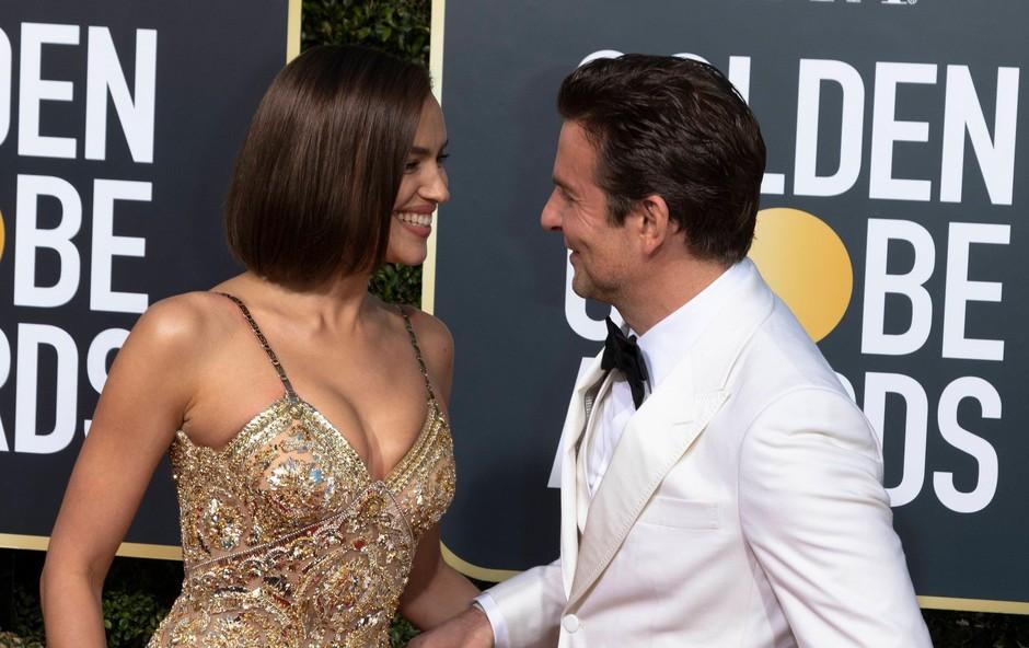 Bradley Cooper in Irina Shayk zasačena v nežnih intimnih trenutkih (foto: Profimedia)