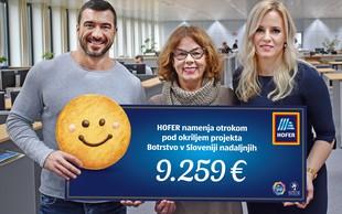 Z Nasmeškotki za Botrstvo zbrali več kot 9.000 evrov