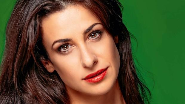 Lara Komar je odraščala v res številčni družini, kar jo še danes izpolnjuje (foto: Ana Gregorič)