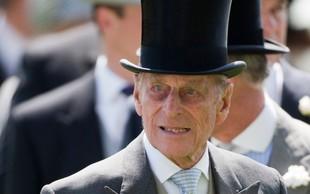 Princ Philip bo do božiča ostal v bolnišnici