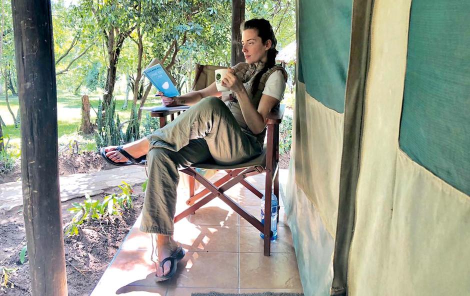 Jasmina Kandorfer lani posvojila orangutana, letos še slona!?! (foto: osebni arhiv)
