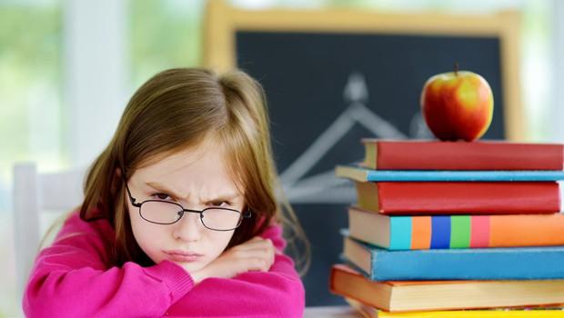 """Odklanjanje šole: """"Jaz ne grem v šolo!"""" (foto: SHUTTERSTOCK)"""