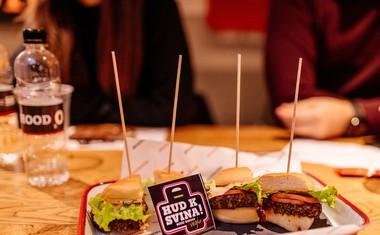 Hood Burger gre med vegije