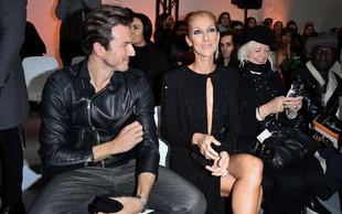 Shujšana Celine Dion po smrti moža ljubi 16 let mlajšega plesalca