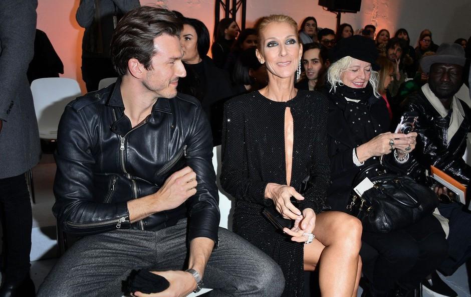 Celine Dion jezno zanikala govorice o zvezi z mlajšim plesalcem (foto: Profimedia)