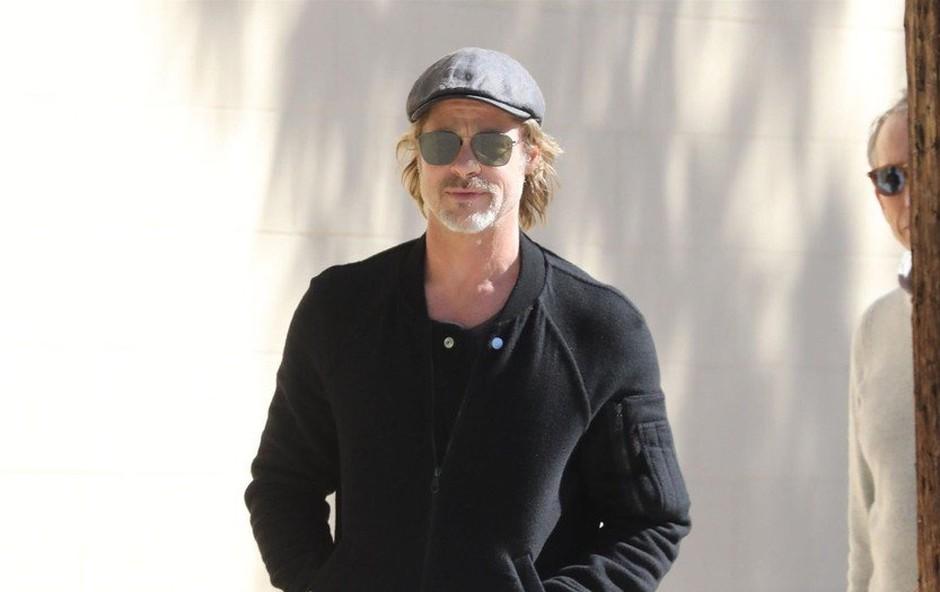 Nerazpoloženi Brad Pitt se je prvič po govoricah o novi ljubezni pojavil v javnosti (foto: Profimedia)
