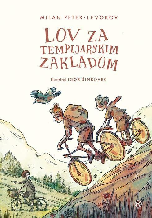 Mladinski roman Lov za templjarskim zakladom, ki je bil nominiran za modro ptico! (foto: emka)