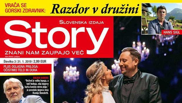 Senka in Uroš Umek: Razkošna poroka v Operi (foto: Story)