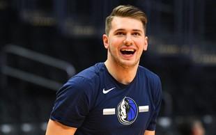 Luka Dončić je postal šesti najstnik v zgodovini NBA, ki je nanizal več kot tisoč košev