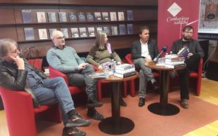 Pri Cankarjevi založbi tudi nov roman Javierja Mariasa in zbirka zgodb Vinka Möderndorferja