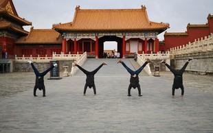 Dunking Devils nastopili za več kot milijardo ljudi na Kitajskem