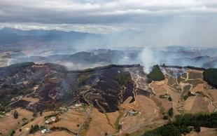 Nova Zelandija: Največji požar v 64 letih po petih dneh še ni pod nadzorom