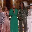 Michelle Obama pritegnila pozornost na podelitvi grammyjev