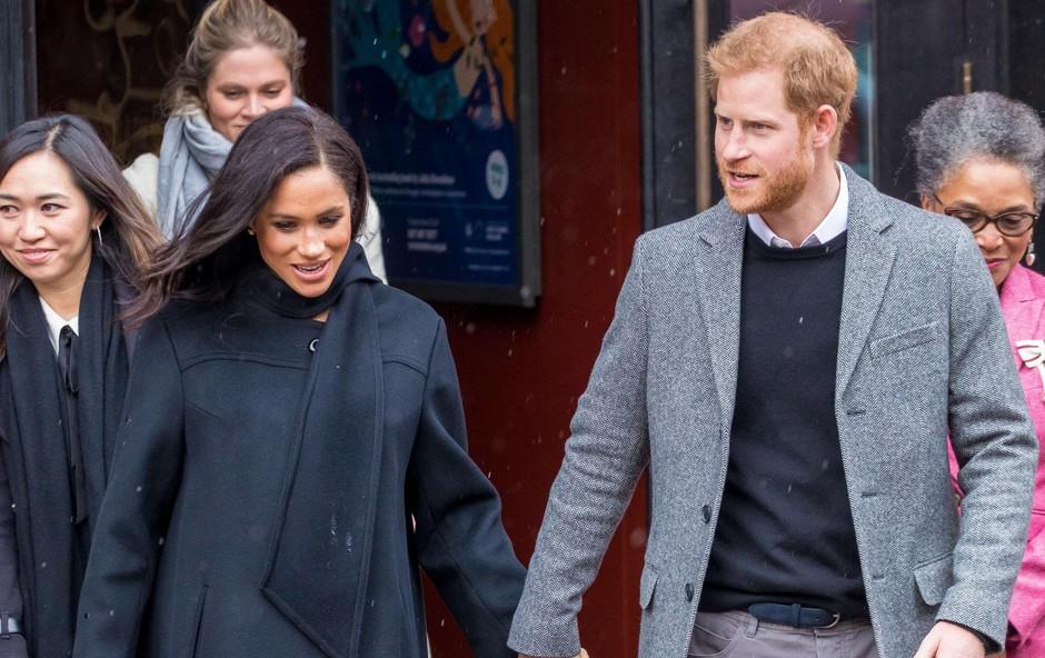 Princ Harry je do svoje soproge zelo zaščitniški. (foto: PROFIMEDIA PROFIMEDIA, SPLASH - AKTIVNí)