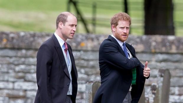 Princa William in Harry se tudi uradno razhajata! (foto: Profimedia)