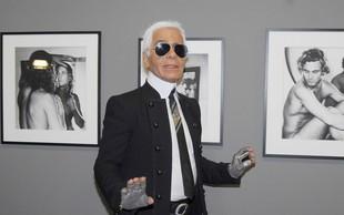 Lagerfeld naj ne bi želel slovesnosti, njegov pepel pa bodo enostavno raztrosili
