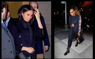 Meghan Markle se je v New Yorku družila tudi s Sereno Williams