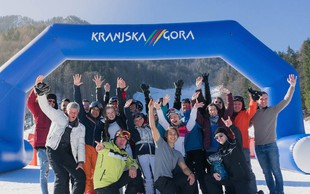 Druženje glasbenikov v podporo največjemu športnemu spektaklu v Kranjski Gori