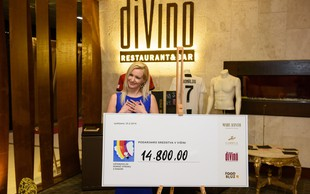 Na dobrodelnem druženju v diVinu zbrali skoraj 15.000 evrov za otroke z rakom