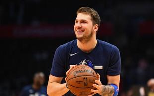 Košarkarski as Luka Dončić presenetil, naredil je nekaj, kar stori izjemno redko