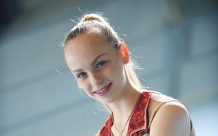 Finalistka Mladi upi 2018: Ritmična gimnastičarka Aleksandra Podgoršek