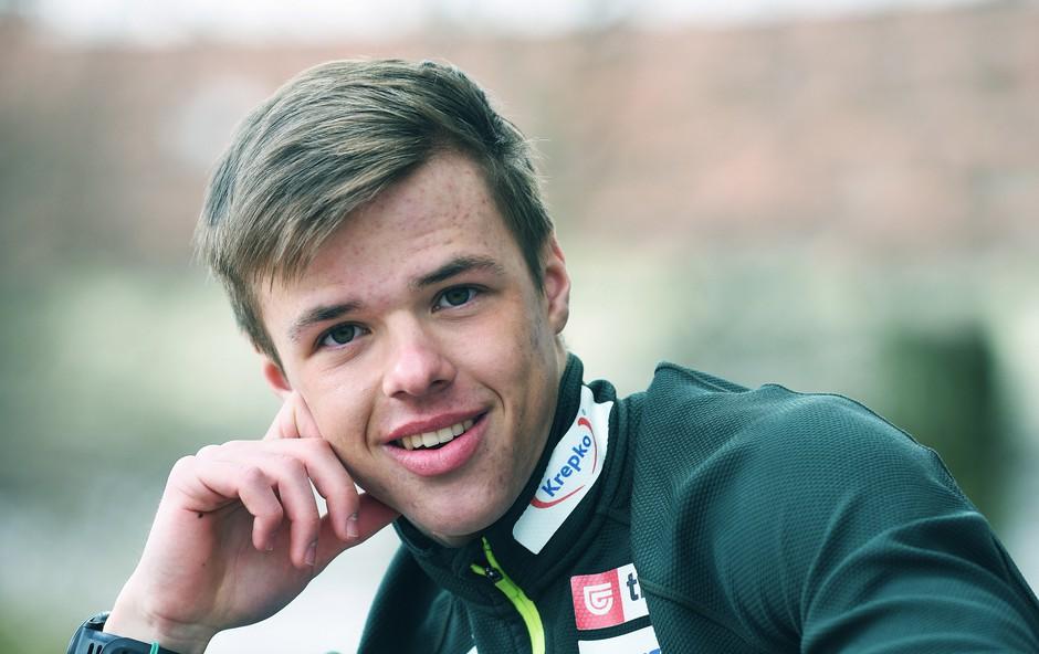Finalist Mladi upi 2018: Biatlonec Alex Cisar (foto: Mateja Jordovič Potočnik)