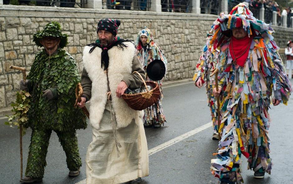 Po vsej Sloveniji so v ospredju pustne norčije s tradicionalnimi prireditvami (foto: profimedia)