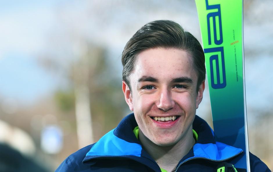 Finalist Mladi upi 2018: Para-alpski smučar Jernej Slivnik (foto: Mateja Jordovič Potočnik)