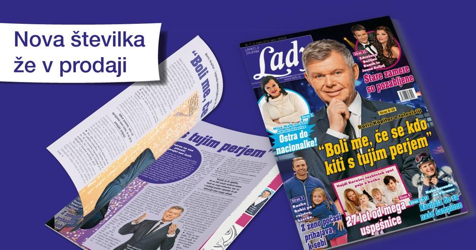"""Boris Kopitar o televiziji: """"Boli me, če se kdo kiti s tujim perjem."""" (foto: Lady)"""