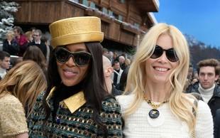 Claudia Schiffer in Naomi Campbell sta se poklonili modnemu velikanu Karlu Lagerfeldu