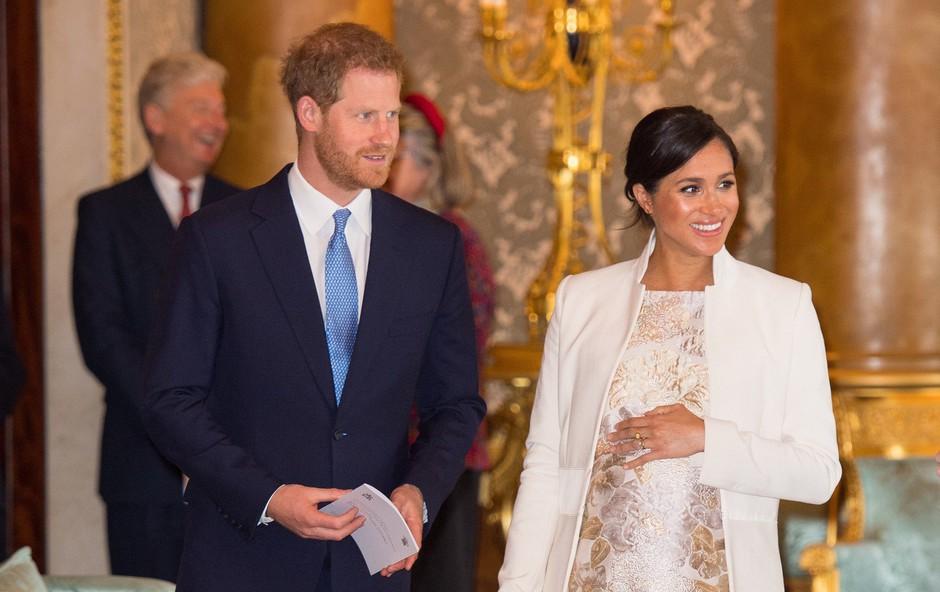 Meghan Markle in princ Harry ob obletnici poroke z videom raznežila oboževalce (foto: Profimedia)