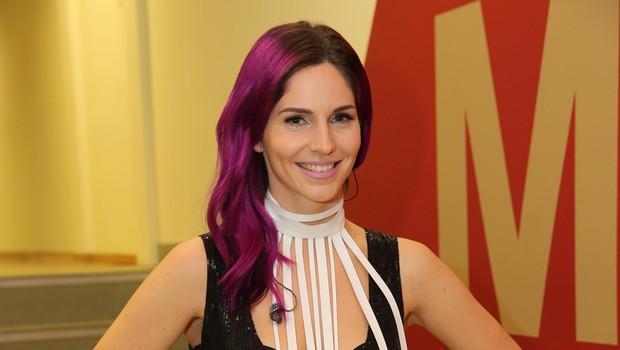 Lea se bo kot gostja udeležila tudi srbskega izbora za Evrovizijo. (foto: HELENA KERMELJ)