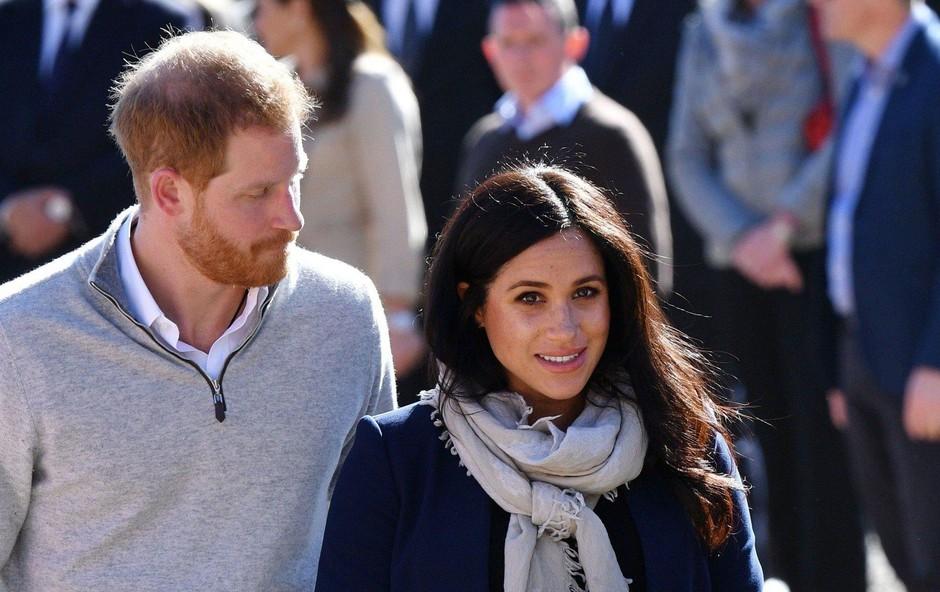 Meghan in princ Harry v  bolj ležerni varianti. (foto: PROFIMEDIA PROFIMEDIA, POLARIS)