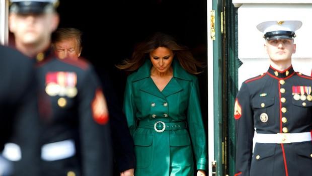 Tiskovna predstavnica Melanie Trump: Govorice o dvojnici prve dame ZDA so sramotne! (foto: Profimedia)