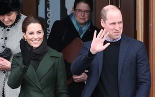 Kate Middleton in princ William sta se po dolgem času znova držala za roke