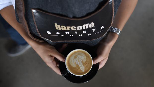Barcaffè navdušil na Festivalu kave v Celju (foto: Barcaffe Press)