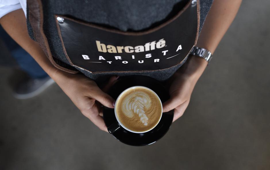 Barcaffè z novimi izdelki na Festivalu kave v Celju (foto: Barcaffe Press)