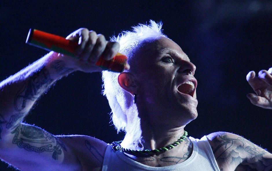 Predmeti frontmana skupine Prodigy, Keitha Flinta, se bodo znašli na dražbi (foto: Profimedia)