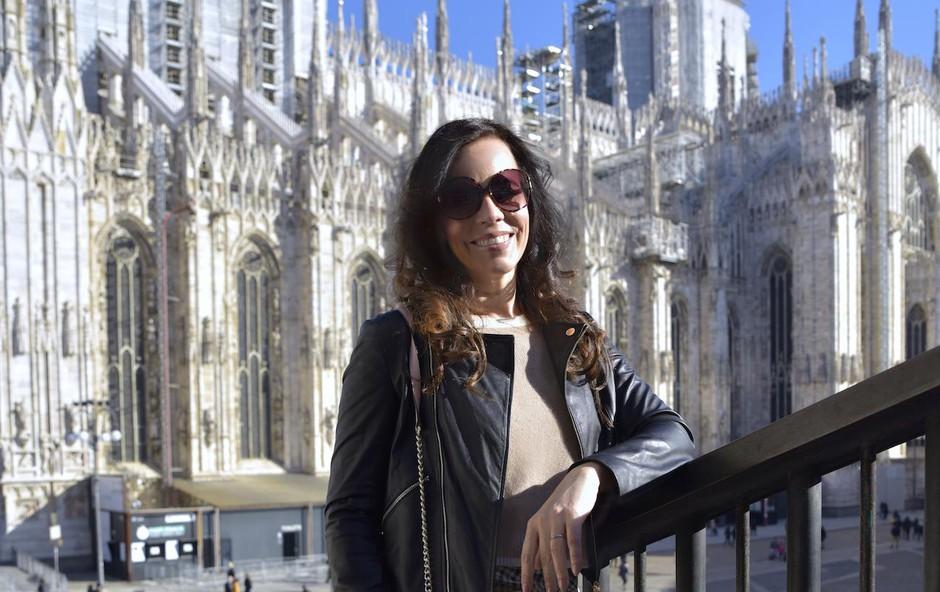 Lorella vsako  leto obišče teden  ženske mode  v Milanu. (foto: FOTO ZEN)