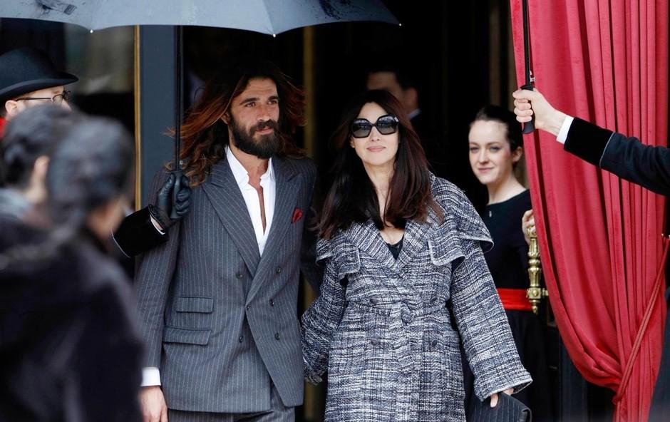 Monica in Nicolas  prvič skupaj  v javnosti. (foto: PROFIMEDIA PROFIMEDIA, BACKGRID UK)