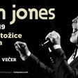 Razposajeni Tom Jones junija v Ljubljani
