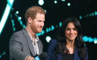 Princ Harry govor posvetil svoji soprogi Meghan