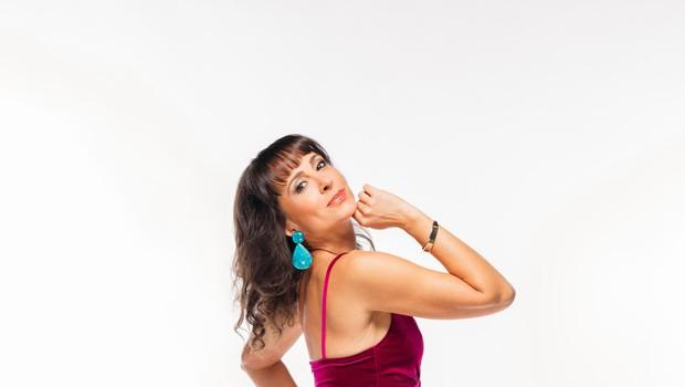 Tina Gorenjak se veseli plesnih izzivov. (foto: Foto: Arhiv Pop Tv)